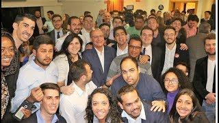 Jovens do Solidariedade se encontram com Geraldo Alckmin