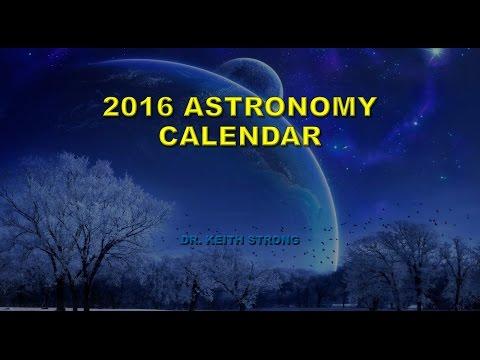 2016 ASTRONOMY CALENDAR