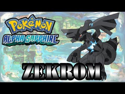 Caçando Lendários [Pokémon Alpha Sapphire] - Zekrom