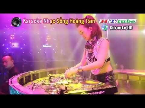 Karaoke Nhạc Sống Độc Liên Khúc REMIX Hoa Cài Mái Tóc