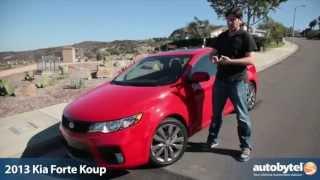 2013 Kia Forte Koup SX Test Drive & Car Video Review