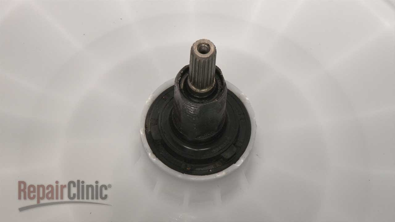 ge washing machine leaking water into tub