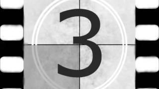 Film Reel 5,4,3,2,1, Countdown-Creative Commons Use