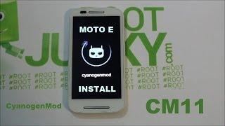 How To Install CyanogenMod 11 On The Motorola Moto E