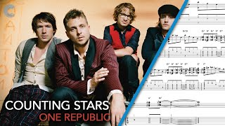 Flute Counting Stars OneRepublic Sheet Music, Chords
