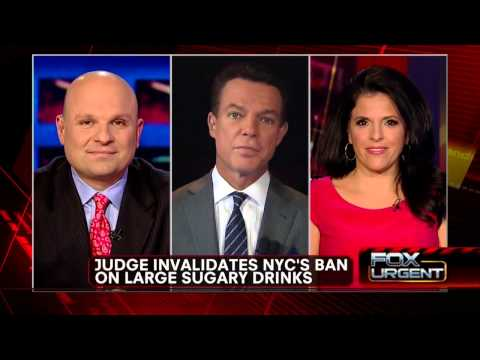 Judge Blocks NYC Mayor Bloomberg Large Soda Ban - March 11, 2013
