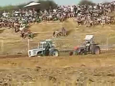 Carreras de Tractores de la feria de Guadalcacín 2013