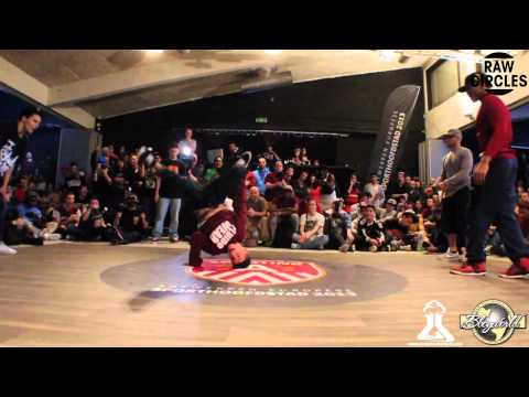 YORIYAS & LIL ZOO vs KAREEM & TATA (RAW CIRCLES 2013) WWW.BBOYWORLD.COM