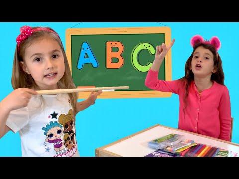 Kids Pretend Play School Çilek Kız Elif funny kids video