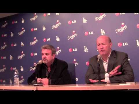 LA Dodgers Ned Colletti & Stan Kasten talk Clayton Kershaw & Tanaka