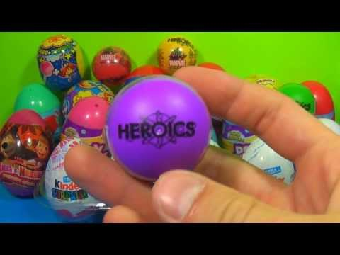 1 of 20 Kinder Surprise and Surprise eggs (SpongeBob Cars Hello Kitty TOY Story) MARVEL Wolverine!