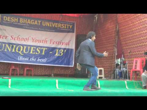 blue eyes | yo yo  honey singh | desh bhagat universit uniquest 2013| MOV 1101
