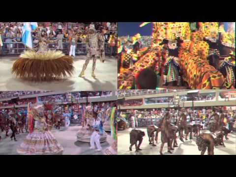 RIO - CARNAVAL 2012: 3D-1080HD Anaglyph Red/Cyan
