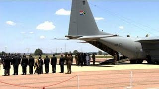 SABC TV Live Stream Coverage: Mandela plane lands in Eastern Cape