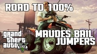 GTA V Maude's Bail Jumpers ALL 4 LOCATIONS REVEALED