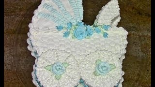 Baby Carriage Cake-Cake Decorating- How To