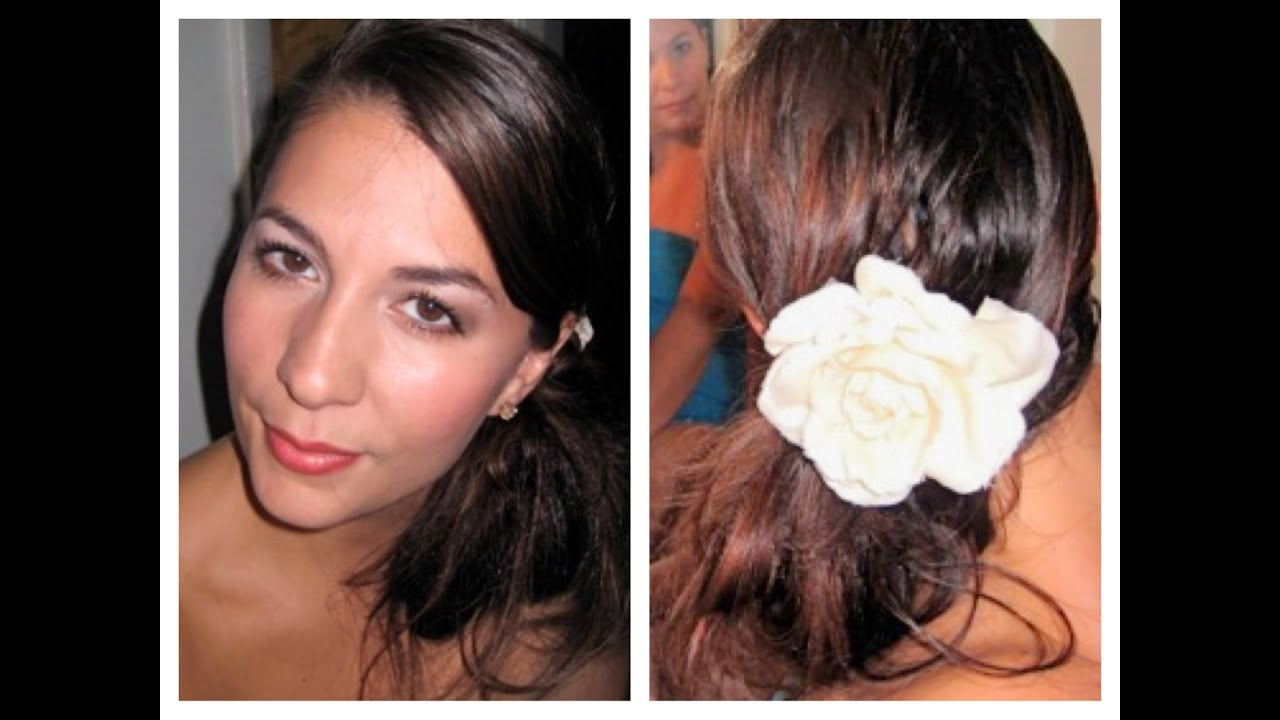 Makeup and Hair for Attending Summer Wedding - YouTube