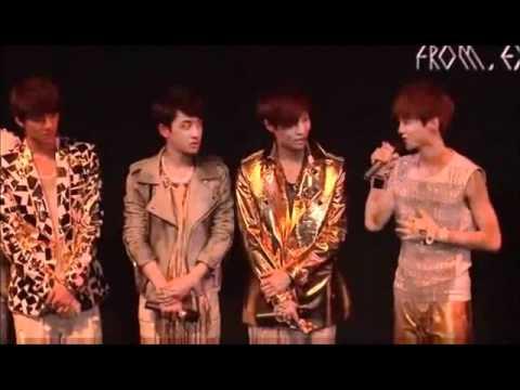 Luhan talking about Sehun at debut showcase in Beijing (Eng subs)