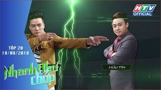 HTV NHANH NHƯ CHỚP | Những gương mặt xuất sắc nhất trở lại tranh tài | NNC #20 FULL | 18/8/2018
