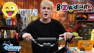 Bizaardvark | DARE ME BRO!: Pogo Stick| Official Disney Channel UK