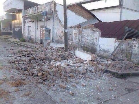 Deadly MASSIVE 7.1 MEGAQUAKE Shake MEXICO, GUATEMALA C AMERICA 5 Dead 7.9.14