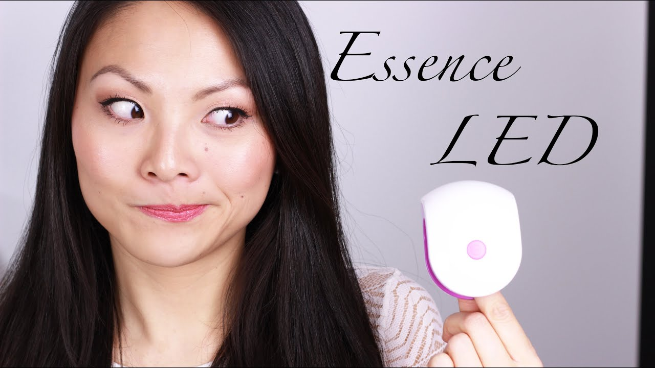 essence gel nails at home mini led lampe review tutorial. Black Bedroom Furniture Sets. Home Design Ideas