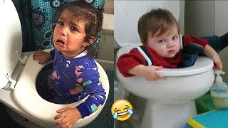 TRY NOT TO LAUGH (Impossible!) - Funny Kids Fails Compilation   BEST VINES