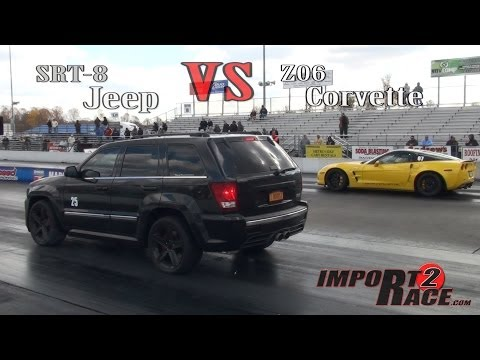 SRT8 Jeep vs Z06 Corvette