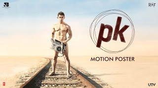 PK Movie Motion Poster