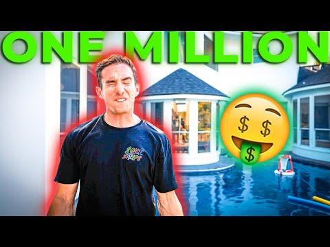 Spending ONE MILLION dollars