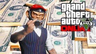 GTA 5 Online Rank Up & Make Money Fast! (GTA V)