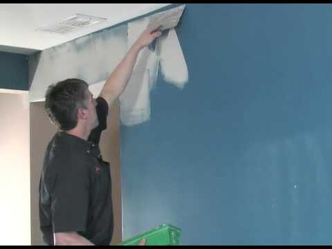 To smooth out rough walls using skim coat, it helps greatly to have a ...