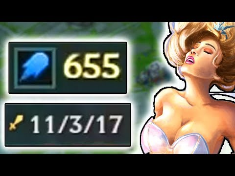 PANTS BECOMES AN E-GIRL? 600+ AP JANNA SUPPORT CARRY IN MASTER / CHALLENGER ELO!