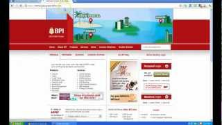 How To Apply For BPI Express Online Account Outside The