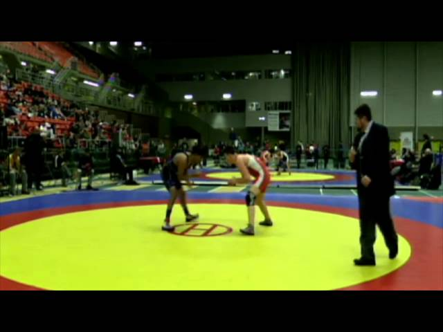 2014 Junior National Championships: 74 kg Final Reid Watkins vs. Jaskarn Ranu