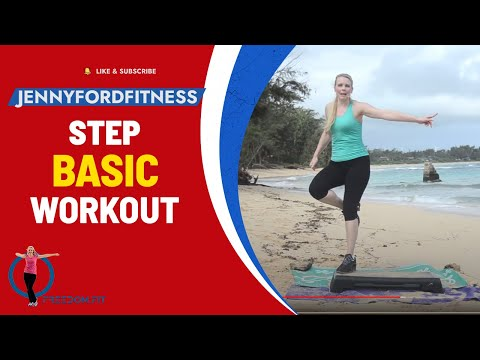 Step Aerobics in Hawaii - JENNY FORD