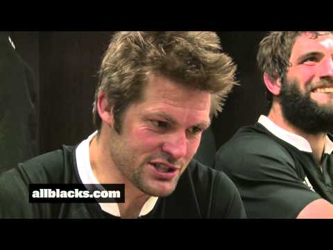 All Black reactions after 2nd Rugby Championship title | Rugby Video Highlights