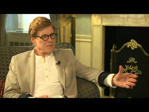 "NEWSNIGHT: Redford on ""All is Lost"" - and America's ""embarrassing"" leaders"