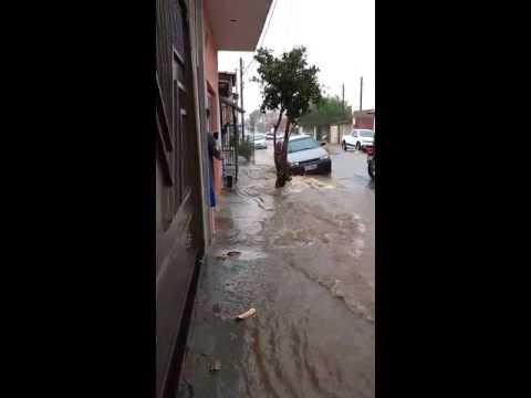 Vídeo Chuva provoca inundação no Aracy e vendaval causa destruição impressionante no Santa Angelina