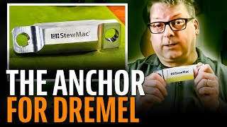 Watch the Trade Secrets Video, The Anchor for Dremel – like having a third hand in the shop!