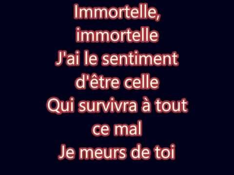 Lara Fabian - Immortelle (Lyrics)