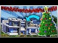 Decorating MY MANSION for CHRISTMAS Minecraft Mods