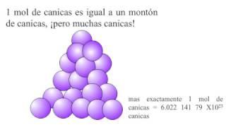 Diferencia entre masa atómica, molecular y molar