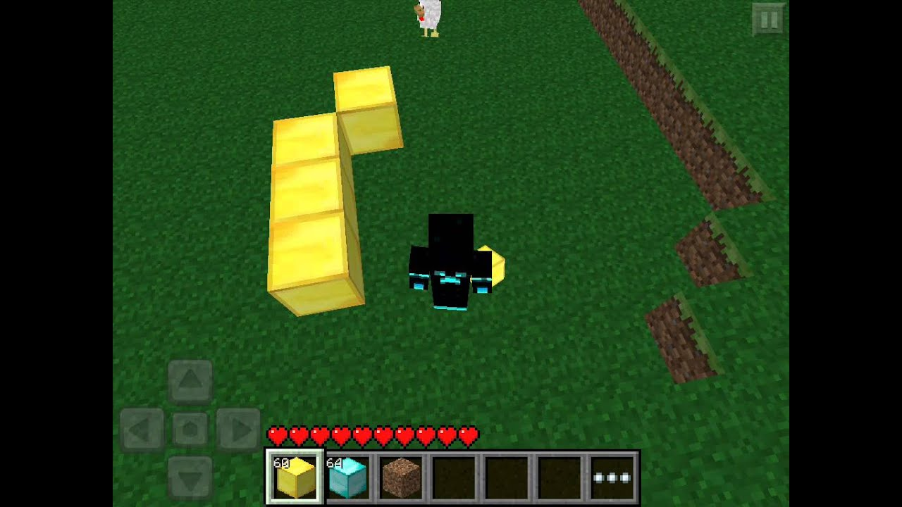 how to make herobrine in minecraft pc