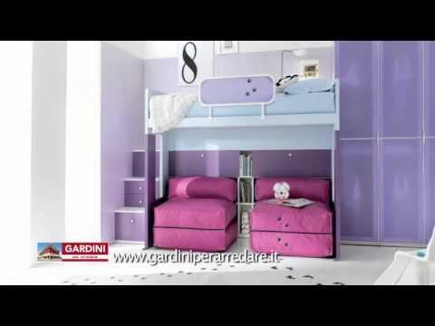 Camerette moderne da bambino proposte colorate e for Gardini per arredare