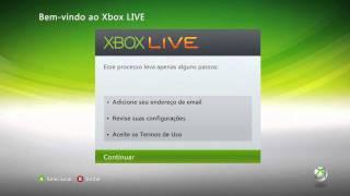 Como Criar Uma Conta Na Xbox Live ( PT BR )