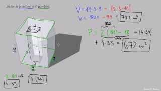 Površina in prostornina – naloga 3