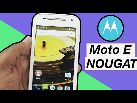 How to : Installing Android 7.0 Nougat (LINEAGE OS ) on Moto E2  3G & 4G