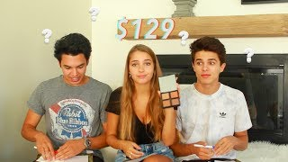 Brothers Guess The Prices of Girly Products!