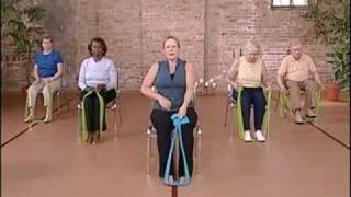 Ćwiczenia z taśmami dla seniorów
